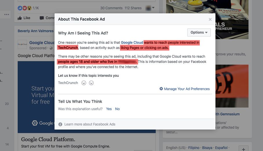Facebook Ad Spy Secret